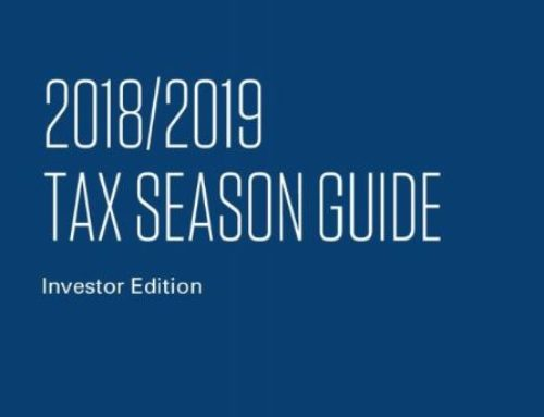 TAX SEASON GUIDE – 2018/2019