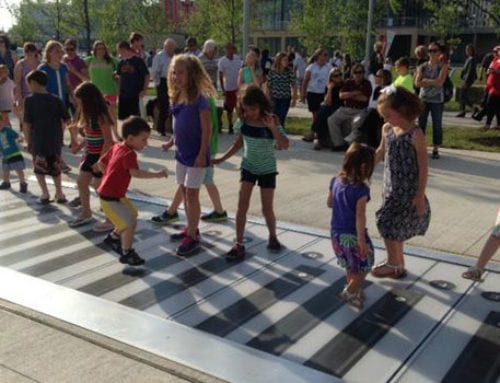 P&G go Vibrantscape at Smale Riverfront Park